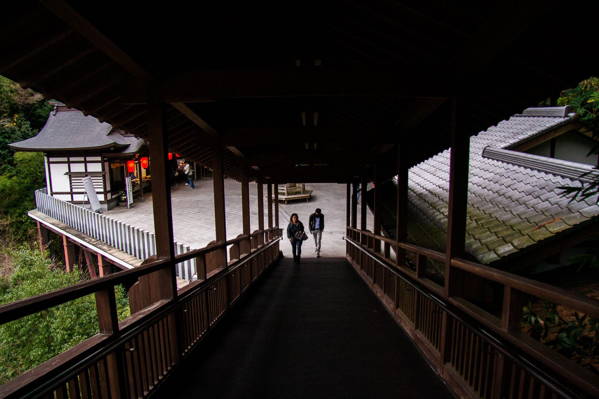 Walkway leading to the Nehanzo Buddha