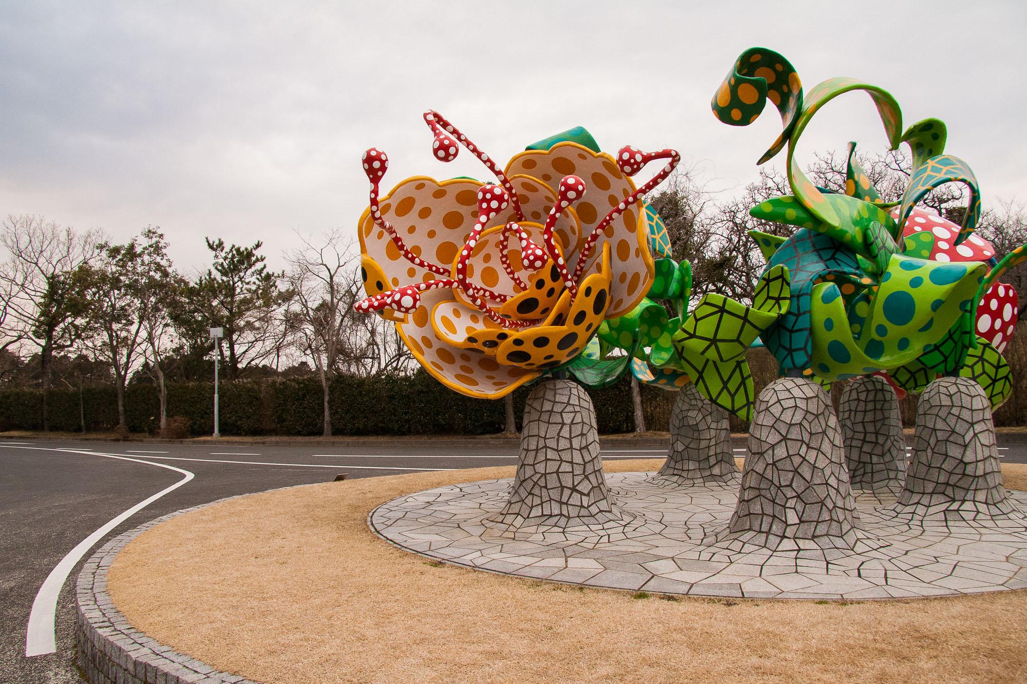 Flowers of Shangri-la, Yayoi Kusama, 2000